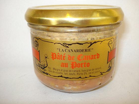 Pâté de canard au Porto (100% canard) 200 g