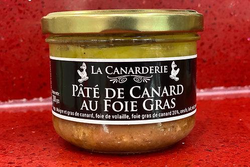 Pâté de canard au foie gras bocal 200g