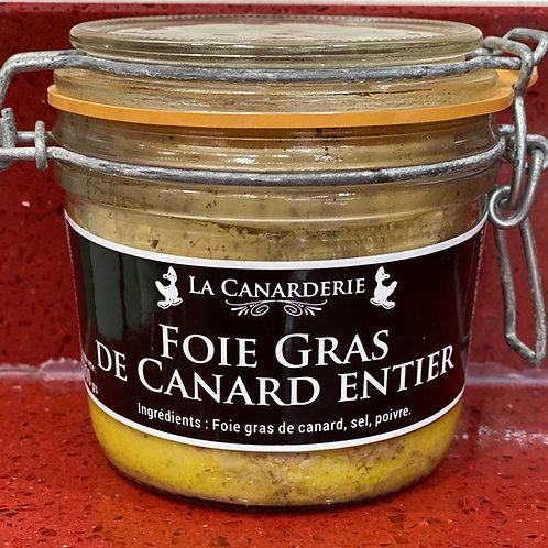 Foie gras de canard entier bocal 300g