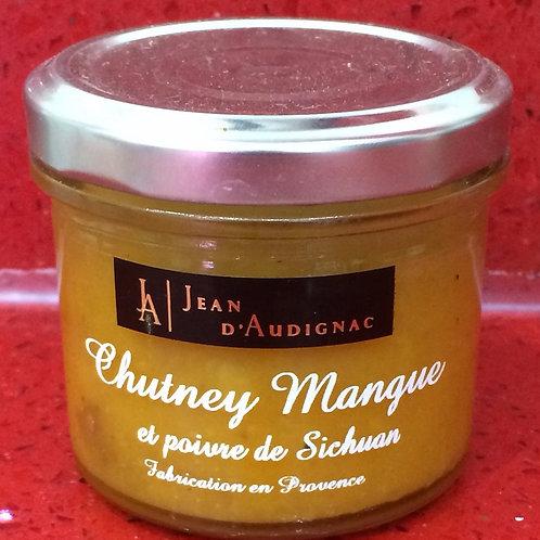 Chutney mangue et poivre de Sichuan