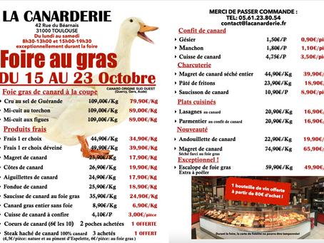 foire au gras (uniquement au magasin)