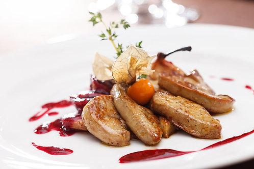 Escalopes de foie gras à poêler(3)