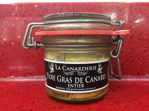 Foie gras de canard entier bocal 100g