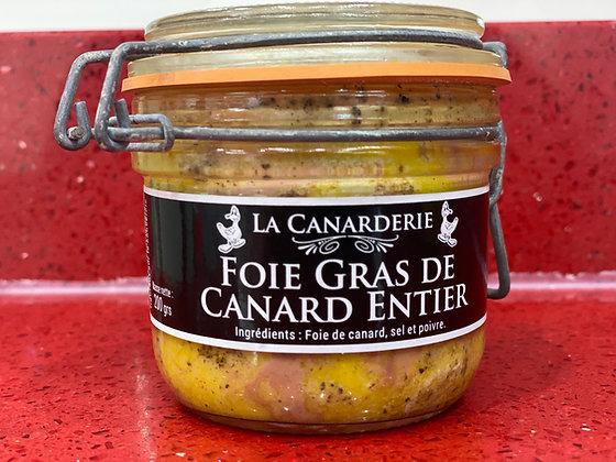 Foie gras de canard entier bocal 200g