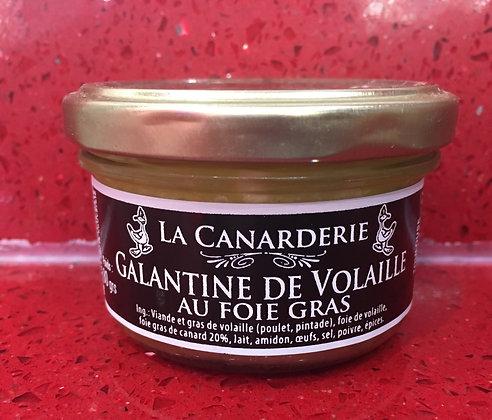 galantine de volaille au foie gras 80 g