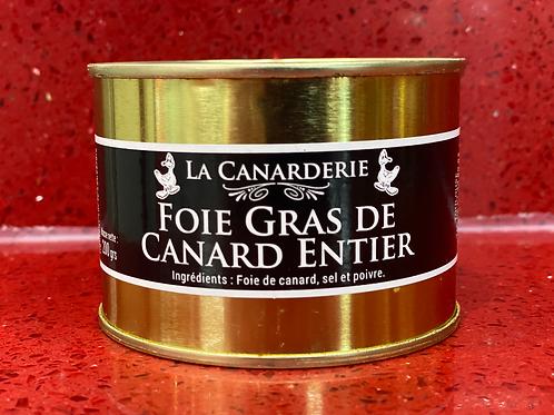 Foie gras de canard entier boite 200G