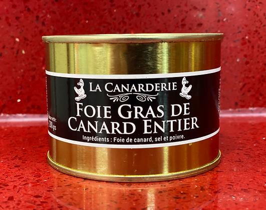 Boite foie gras de canard entier 200G