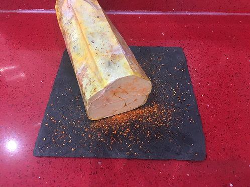 """Foie gras de canard entier mi-cuit au piment d'Espelette """"Le Petit Basque"""" 500g"""