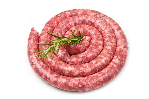 Saucisse pur canard fraîche ( 500g)