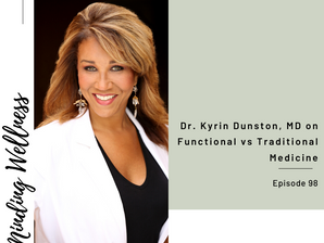 Functional vs Traditional Medicine with Claudia Cometa of Minding Wellness Podcast