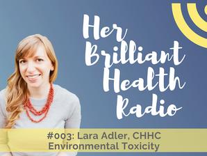 #003: Environmental Toxicity with Lara Adler, CHHC