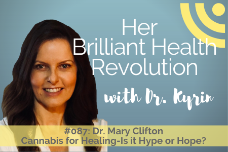 #087: Cannabis for Healing-Is it Hype or Hope?  with Dr. Mary Clifton