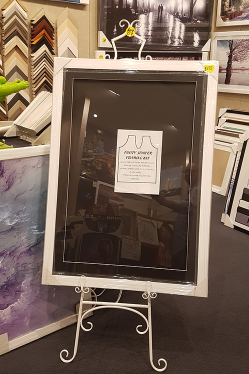 Boxed Frame Kit perfect for jumpers and display memorabilia.
