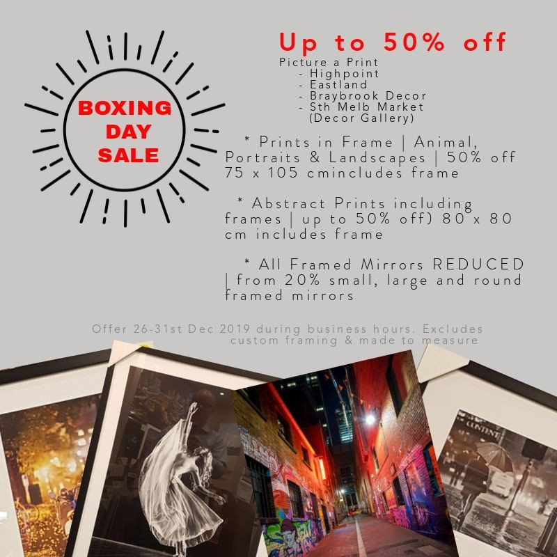 Up to 50% off | Boxing Day Sale | Picture a Print