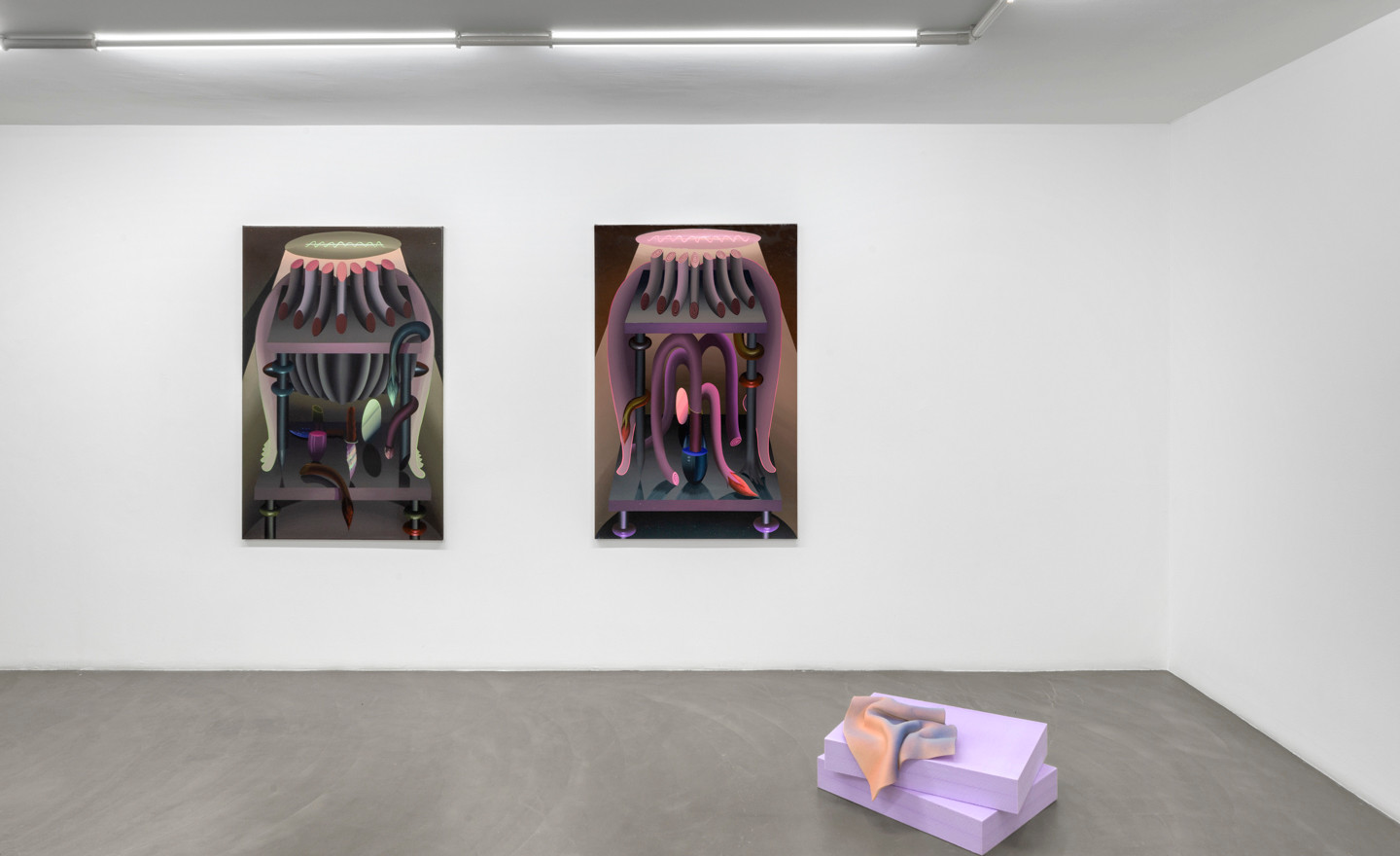 Igor Hosnedl, Vera Kox, In conversation / Chapter #2, 2020, installation view @RIBOT