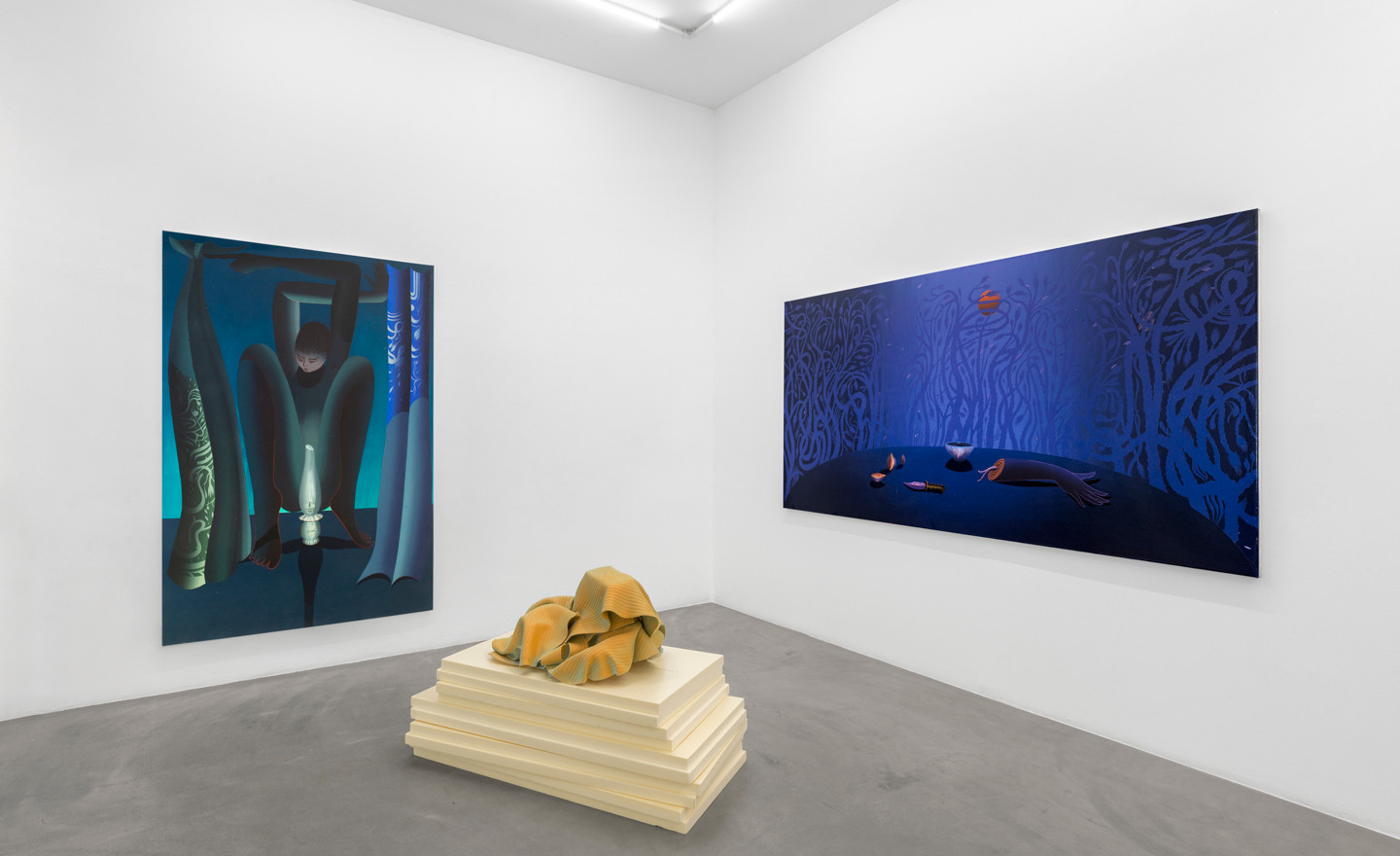 Igor Hosnedl - Vera Kox, In conversation / Chapter #2, 2020, installation view @RIBOT