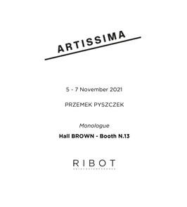 RIBOT @ARTISSIMA 2021