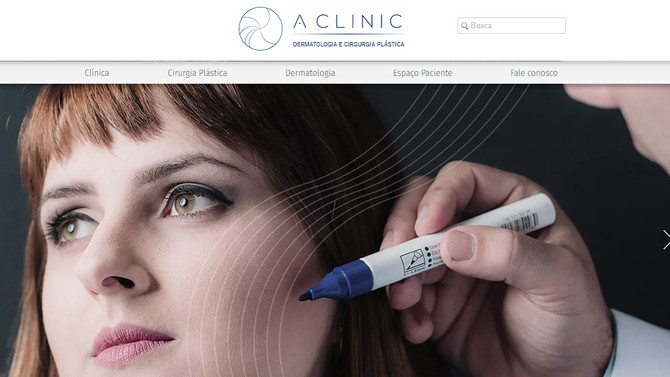 Atenta aos benefícios do Marketing Digital, A Clinic lança seu novo site.