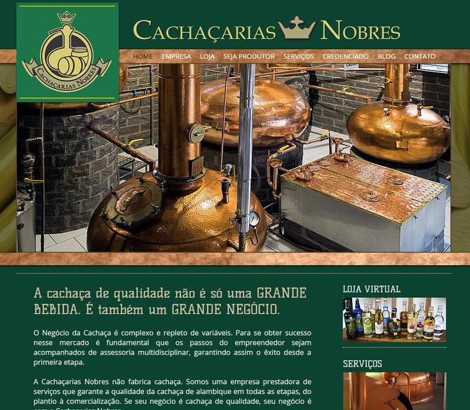 Cachaçarias Nobres - O portal da cachaça de qualidade