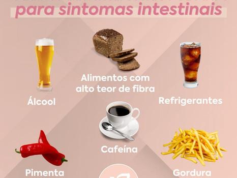 Gatilhos alimentares não FODMAP'S para sintomas intestinais