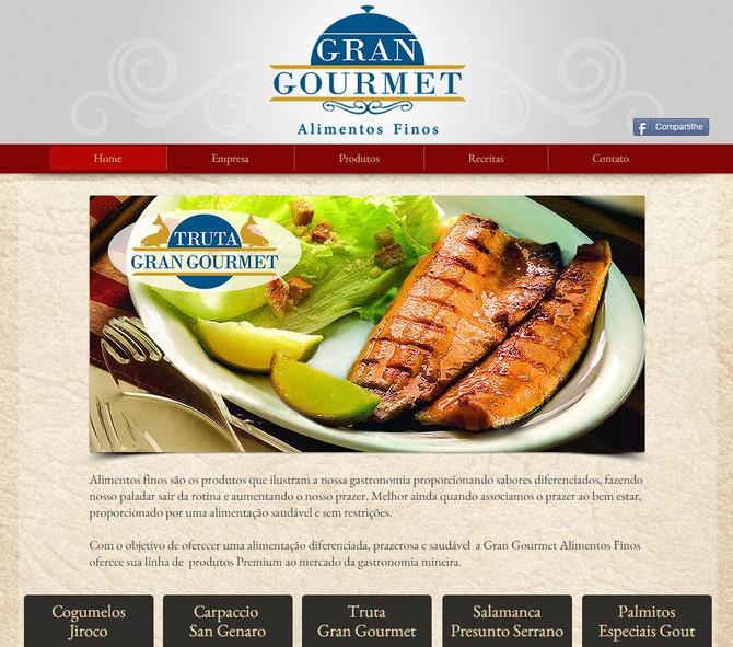 Gran Gourmet Alimentos Finos - Um upgrade no seu cardápio.