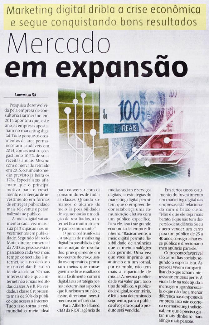 Confira a interessante matéria publicada no Jornal Estado de Minas sobre a importância do Marketing