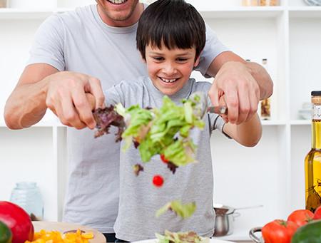 Nutrição infantil sem estresse.