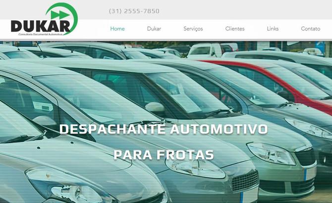Dukar atualiza site, melhora a presença digital e oferece serviços on-line a seus clientes.