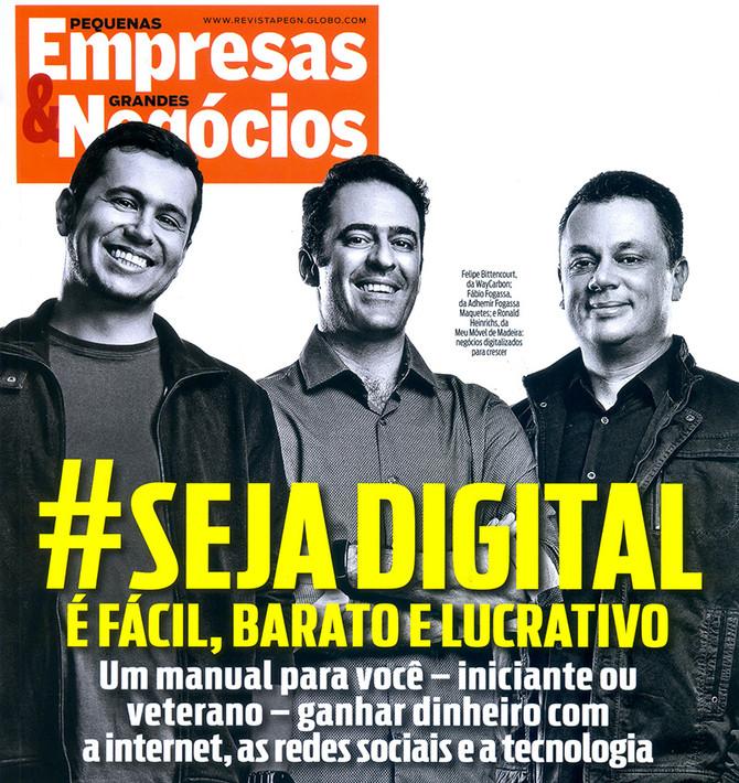 Capa da revista Pequenas Empresas, Grandes Negócios de Julho/14.