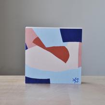 "6""x6"" acrylic painting on wood panel"