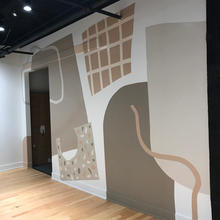 Henri Interiors Office Mural