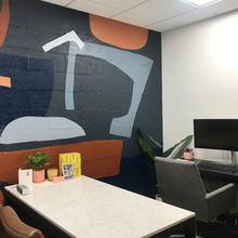 Fox Home's Office Mural