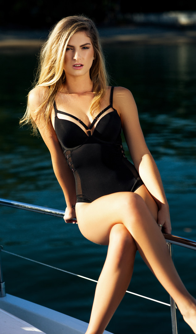 hot girl on boat