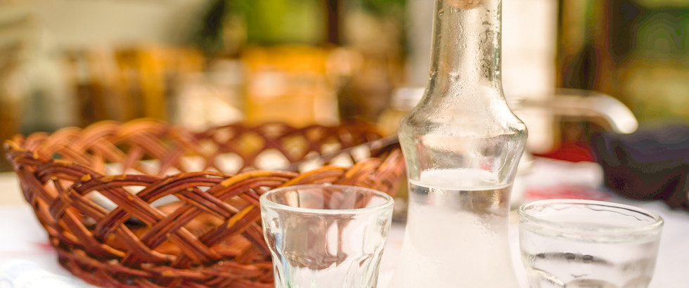 Greek Spirits & Distillates Tasting