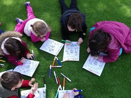 #ΜΕΝΟΥΜΕΣΠΙΤΙ και ζωγραφίζουμε παραμύθια!