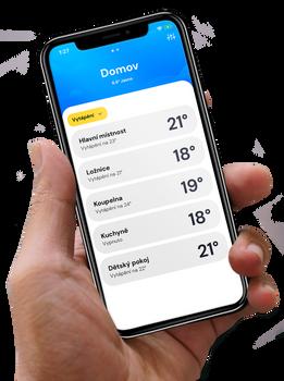 Mobilní aplikace Forseti Home