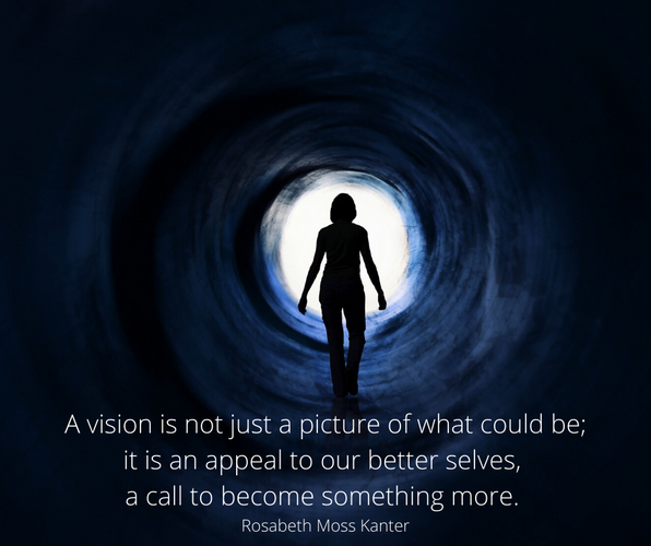 A vision is not just a picture of what c