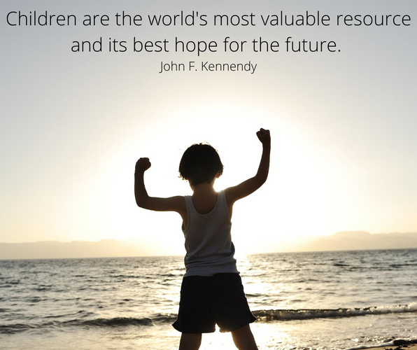 Children are the world's most valuable r