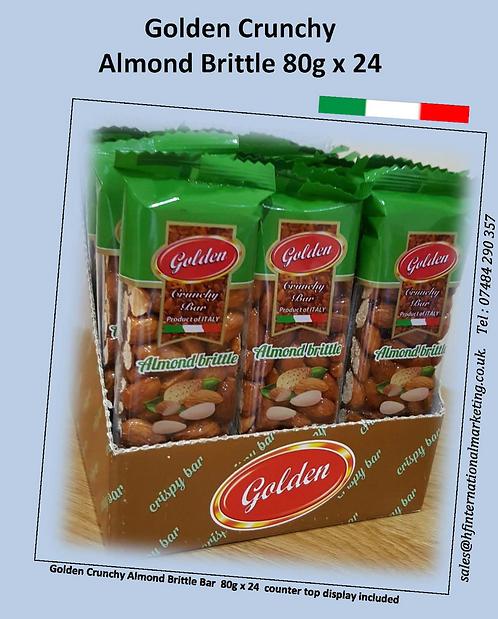 Almond Bar 80g x 24
