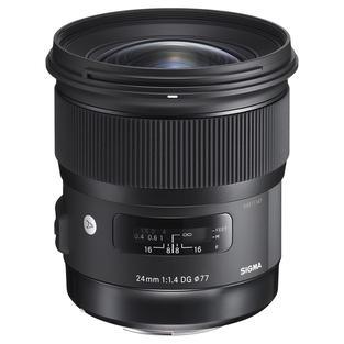 Sigma 24mm f/1.4 Art Lens for EF Mount