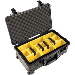 Pelican 1510 Case With Padded Dividers (Carry On Approved)