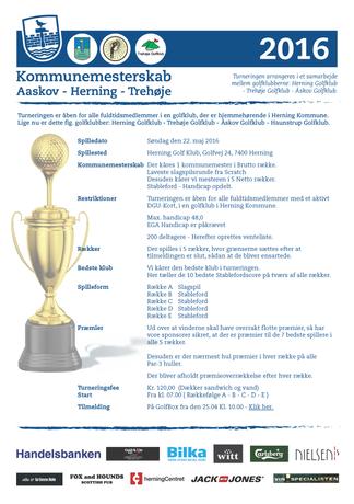 Kommunemesterskab Åskov-Herning-Trehøje 2016