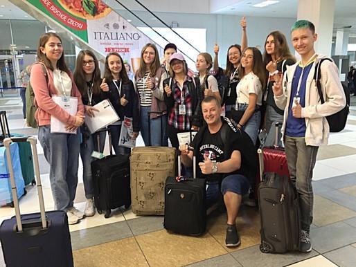Наш school trip в Великобританию в этом году