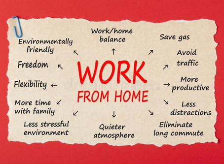 "5 Ways to make ""WFH""​ more Productive and Efficient"