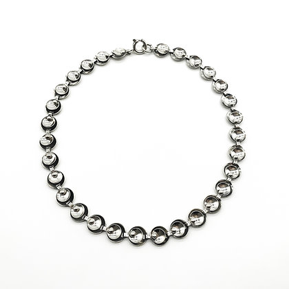 Silver Scandinavian Necklace