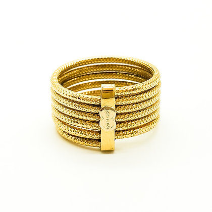 18ct Gold Six Band Ring