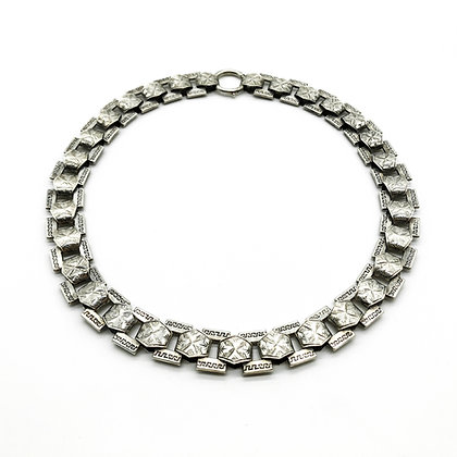Victorian Silver Choker (Sold)