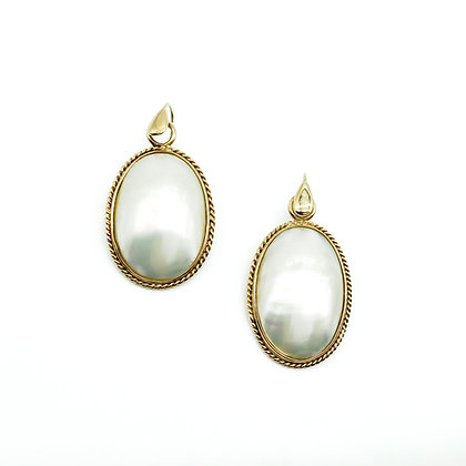 9ct Gold and Pearl Earrings