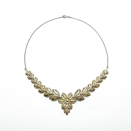 Silver Gilt Filigree Necklace
