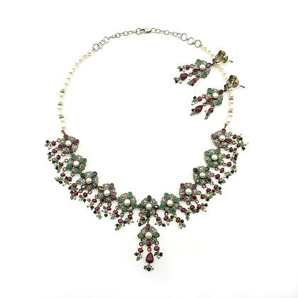 Silver and Brass Indian Wedding Set